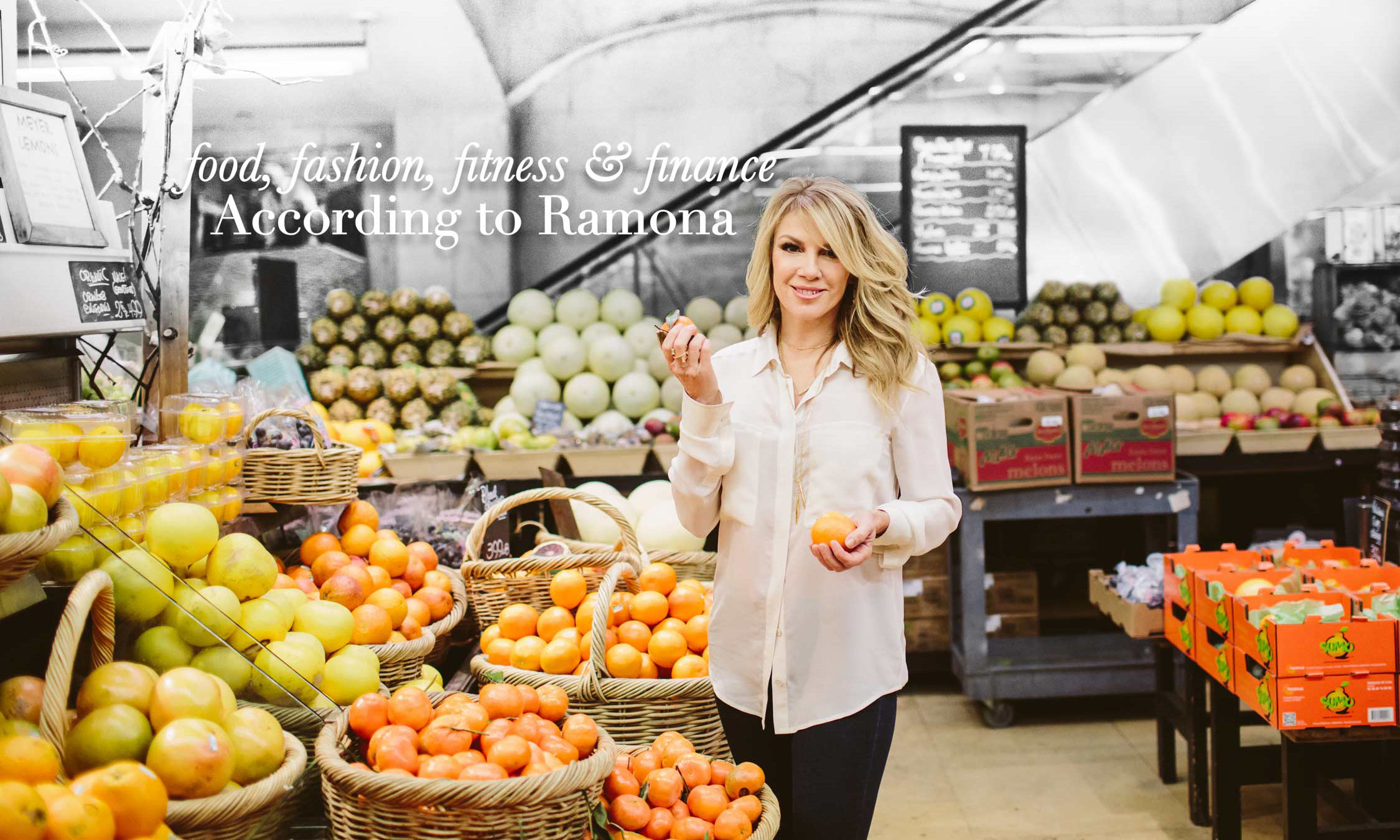 food, fashion, fitness & finance: According to Ramona